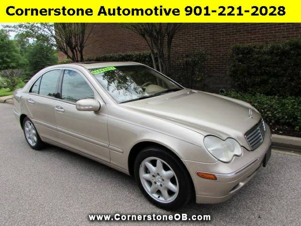 NOW ONLY $5500! 2004 Mercedes C320, Just 128K miles, Clean Carfax, Sun