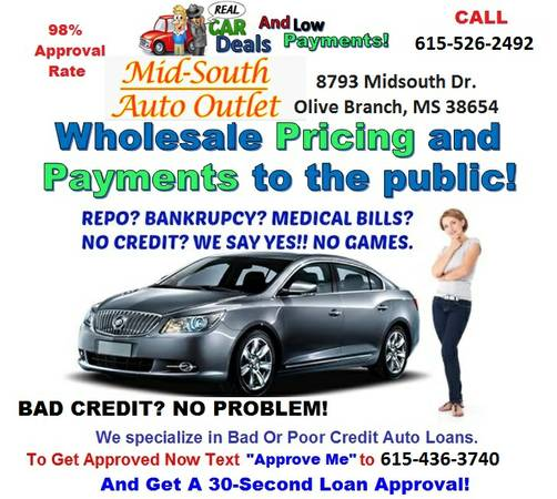 USED 2012 KIA SORENTO TAKE UP PAYMENTS BAD CREDIT OK MONTHLY=