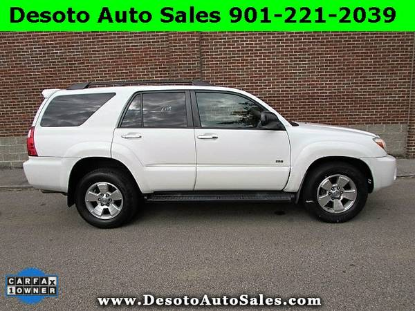 ONLY $11000!!! 1 Owner 2007 Toyota 4Runner SR5 V6 - Desoto Auto Sales
