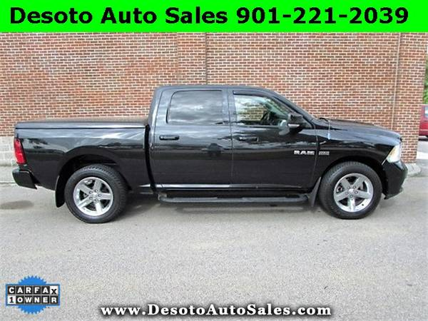 ONLY $19750!!! 2010 Dodge Ram 1500 Sport Crew Cab 4WD with Leather - D