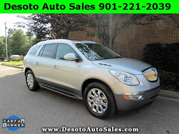 2012 Buick Enclave Silver For Sale NOW!