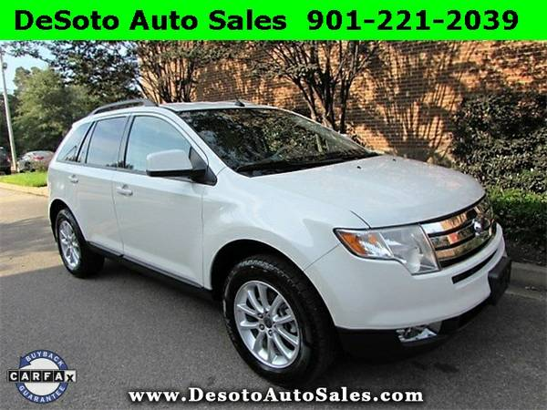 ONLY $11250!!! 2009 Ford Edge SEL AWD with Leather - Desoto Auto Sales