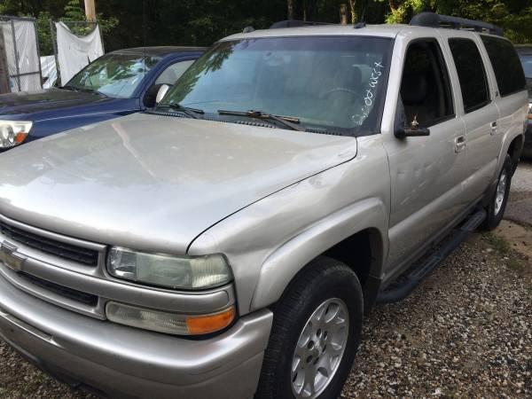 2004 Chevy suburban z71 4wd