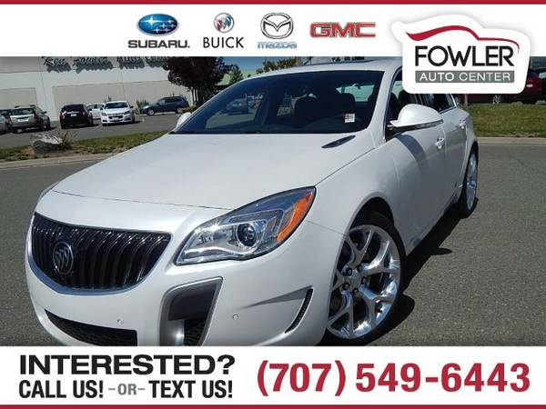 2016 Buick Regal GS Sedan Regal Buick
