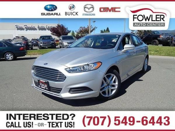 2016 Ford Fusion SE Sedan Fusion Ford