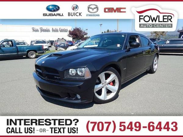 2010 Dodge Charger SRT-8 Sedan Charger Dodge