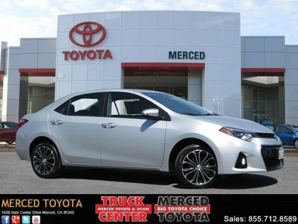 2015 Toyota Corolla Sedan S Plus Low Miles! Carfax One Owner
