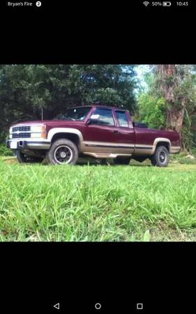 93 Chevy Silverado K2500 Turbo Diesel