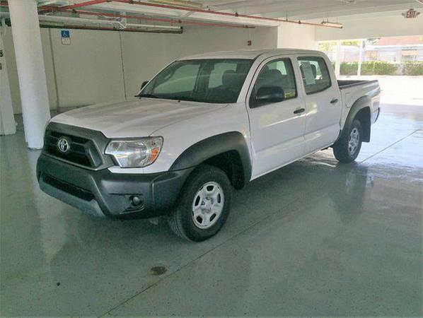 2013 *Toyota* *Tacoma* Base 4x2 4dr Double Cab 5.0 ft SB 4A -EVERYONE