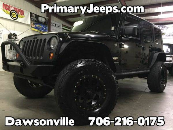2008 *Jeep* *Wrangler* Unlimited Sahara 4x4 -IN HOUSE FINANCE-FREE SHI