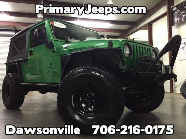 2004 *Jeep* *Wrangler* Unlimited 4x4 LJ -IN HOUSE FINANCE-FREE SHIPPIN