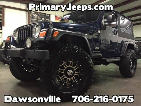 2006 *Jeep* *Wrangler* Unlimited 4x4 LJ -IN HOUSE FINANCE-FREE SHIPPIN