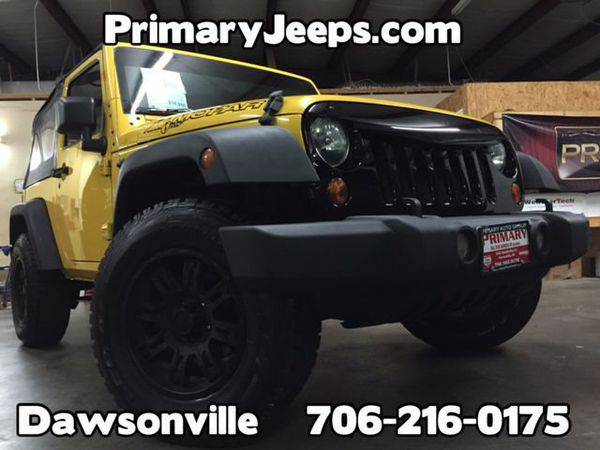 2008 *Jeep* *Wrangler* 4x4 X -IN HOUSE FINANCE-FREE SHIPPING-WARRANTY