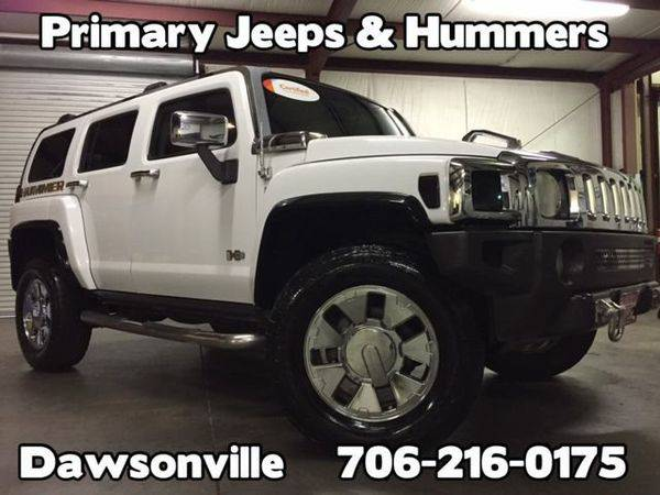 2007 *Hummer* *H3* 4x4 H3x -IN HOUSE FINANCE-FREE SHIPPING-WARRANTY