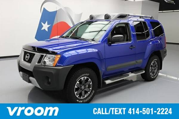 2015 Nissan Xterra PRO-4X 4dr SUV 4WD SUV 7 DAY RETURN / 3000 CARS IN