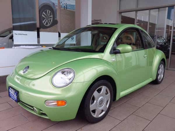 2001 VOLKSWAGEN BEETLE 34,000LOW MILES /1 OWNER/HTD SEATS/EXTRA CLEAN