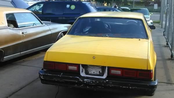 1978 Chevy Malibu ( Nitrus ready) Brand new justbuilt by Borchert Spee