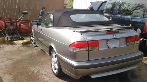 2000 Saab Convertable