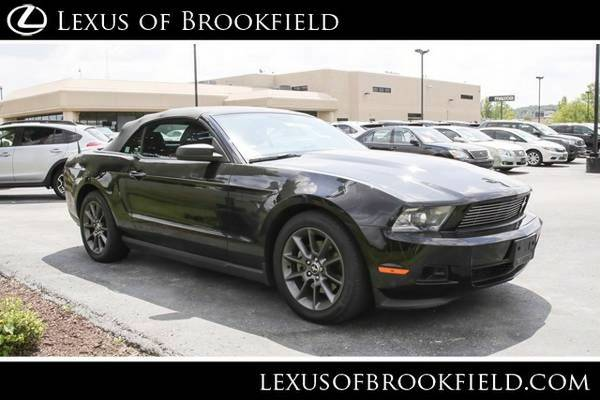 2012 Ford Mustang V6 Premium Convertible Mustang Ford