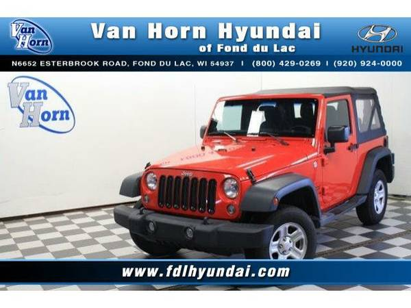 2014 *Jeep Wrangler* 4x4 Sport - Jeep-Financing for Everyone