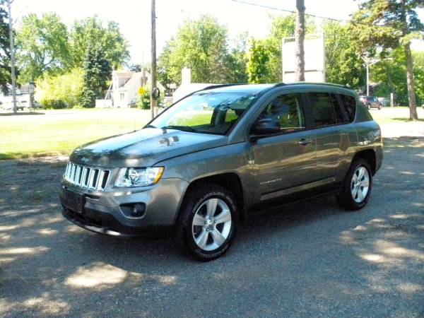 2011 JEEP COMPASS 4WD-LATITUDE PACKAGE-LOWEST MILES