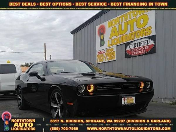 2015 Dodge Challenger R/T Plus ==>*ZERO DOWN! 125% KBB TRADE IN...