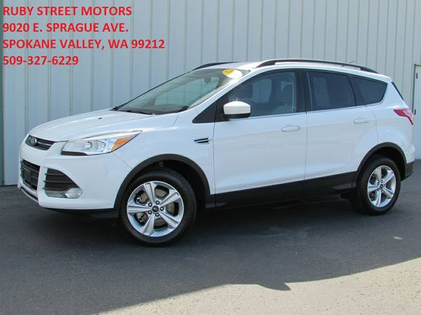 2013 Ford Escape SE 4WD ONE-OWNER!!