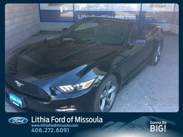 2015 Ford Mustang V6 (You Save $1,403 Below KBB Retail)