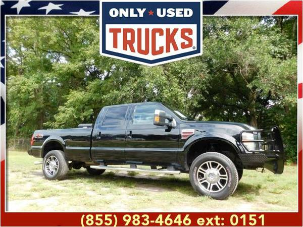 2010 *Ford F350* *F-350*F 350* Lariat 4x4 Super Duty SRW (8cyl, 6.4L,
