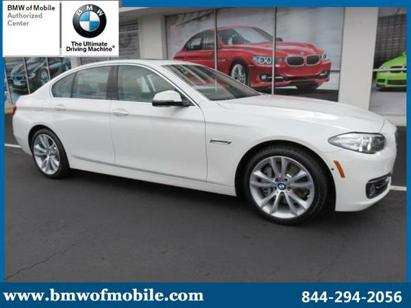 2016 BMW 5 Series - *JUST ARRIVED!*