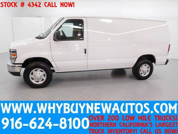 2014 *Ford* *E250* ~ Cargo Van ~ Only 7K Miles!
