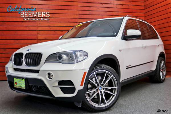 2013 BMW X5 xDrive35i Navigation X Series Alpine White