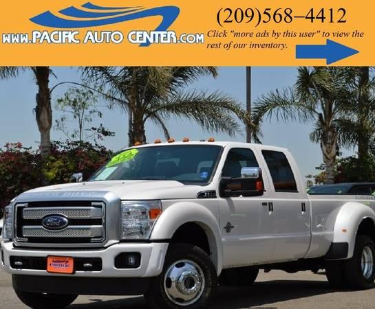 2016 Ford F-350 *Platinum *Crew Cab *4x4 *F350 *Dually*Diesel(15899)