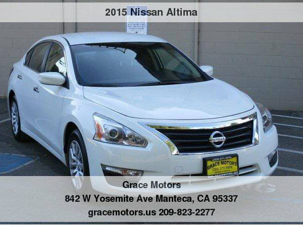 2015 Nissan Altima 4dr Sdn I4 2.5 Easy Financing!