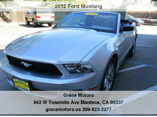 2012 Ford Mustang 2dr Conv V6 Low Down Payments!