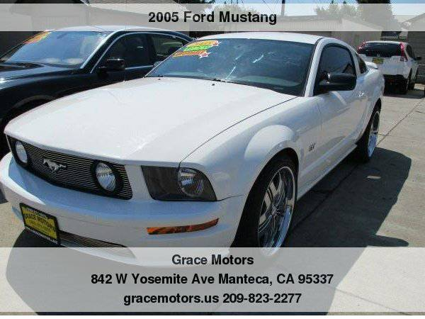 2005 Ford Mustang 2dr Cpe GT Low Down Payments!