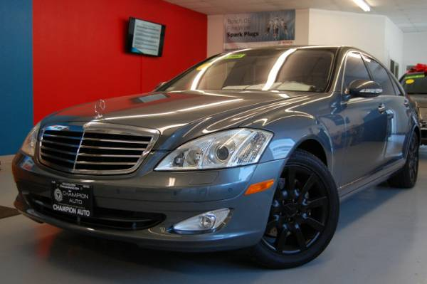 V8 FAST >> 2007 Mercedes-Benz S-Class S550 w/ LOW MILES