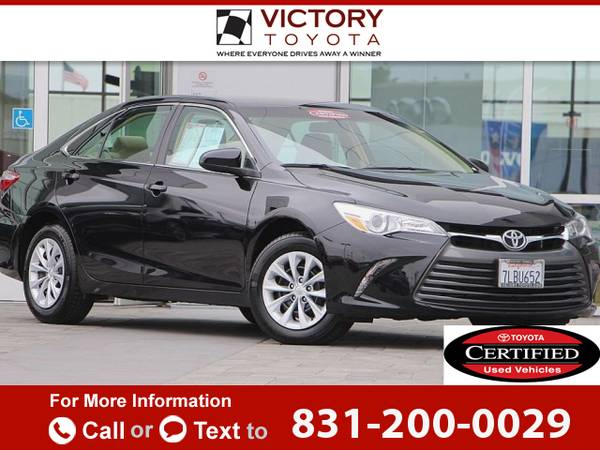 2015 *Toyota* *Camry* *LE* 16k miles