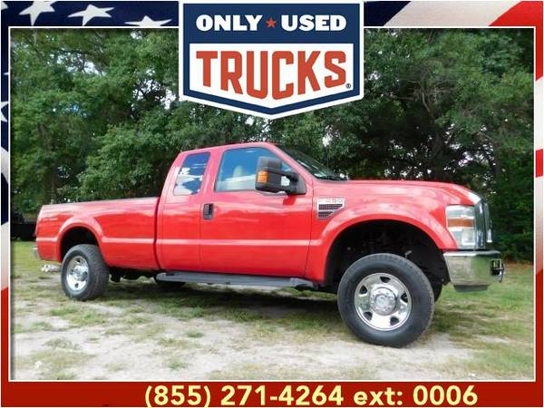 2008 *Ford F250* *F-250*F 250* XLT 4x4 Super Duty (8cyl, 6.4L,...