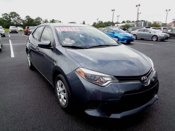 Certified: 2014 Toyota Corolla L 4dr Sedan 4A L only 12,304 miles