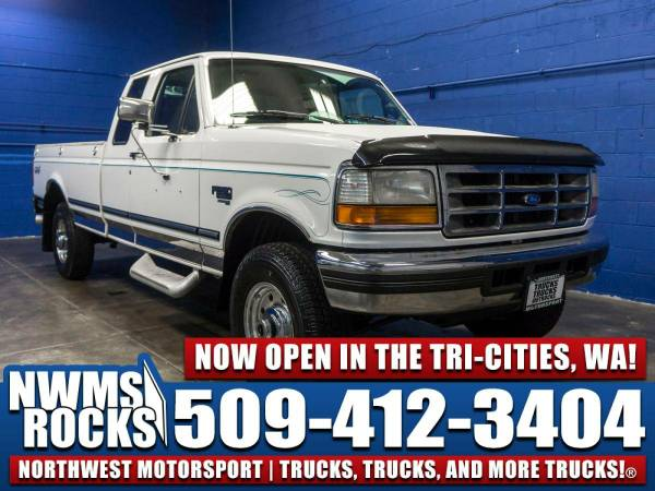 1997 *Ford F250* 4x4 - Towing Package! 1997 Ford F-250 4x4 Diesel...
