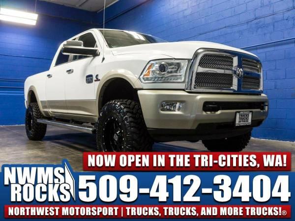 Lifted 2013 *Dodge Ram* 3500 Longhorn 4x4 -