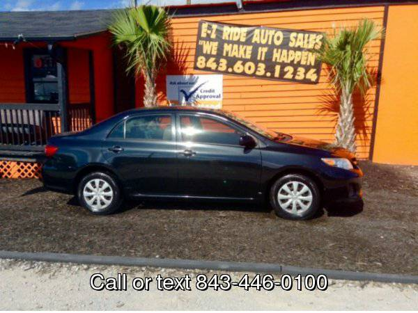 2011 Toyota Corolla 4dr Sdn Auto L (Natl) Your Job is Your Credit!!
