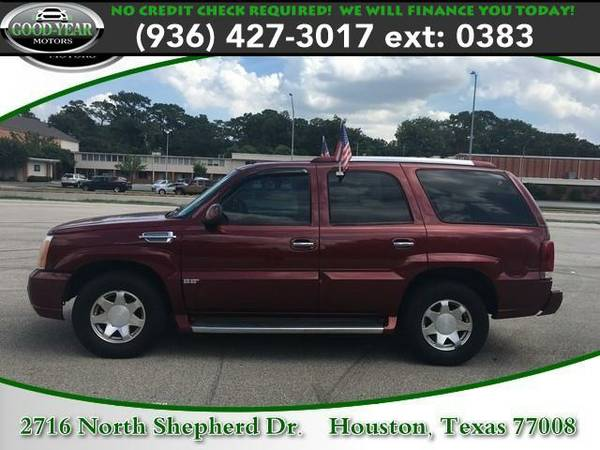 2002 *Cadillac Escalade* NO CREDIT CHECK REQUIRED!