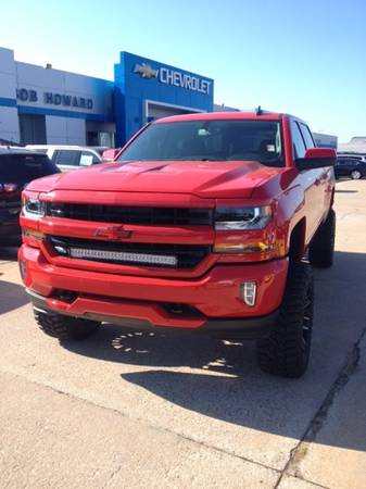 2016 *RECOIL* LTZ CHEVY SILVERADO PACKAGE CUSTOM LIFT AND WHEELS!!