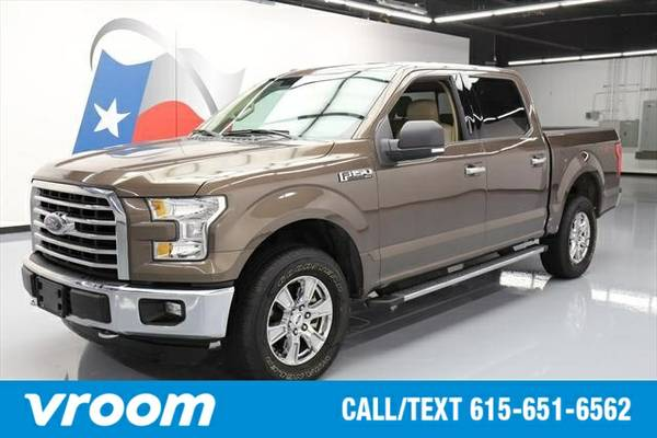 2015 Ford F-150 4x4 XLT 4dr SuperCrew 5.5 ft. SB Truck 7 DAY RETURN /