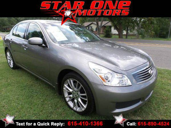 2007 *Infiniti* *G35* Base ** Guaranteed Financing**