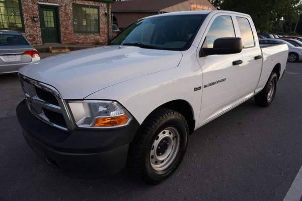 2011 *RAM* *Ram* *Pickup* *1500* Big Horn 4x4 4dr Quad Cab 6.3 ft. SB