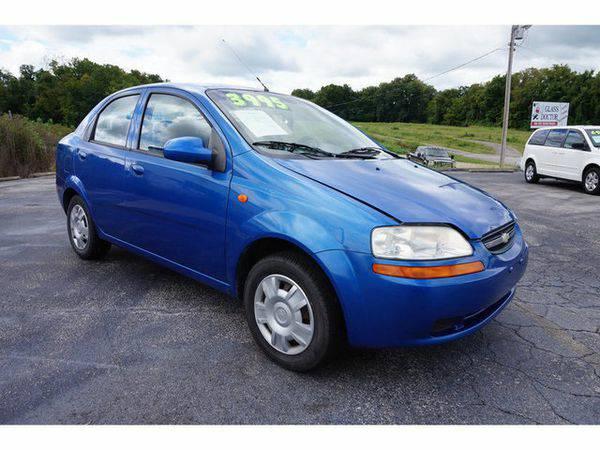 2004 *Chevrolet* *Aveo*