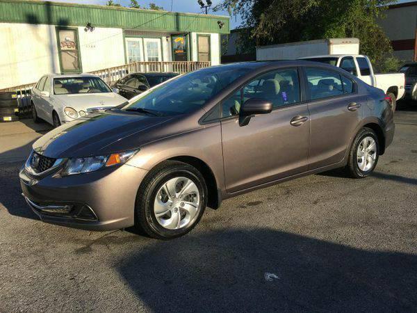 2015 *Honda* *Civic* LX 4dr Sedan CVT -Call or Text! Affordable Financ